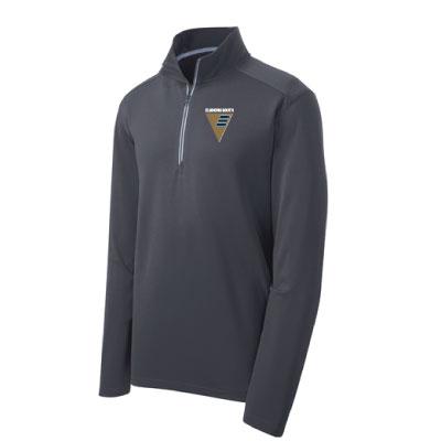 ESHS Band Wedge Embroidered Sport-Tek 1/4 Zip – GREY